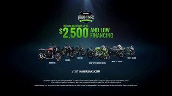 Kawasaki Good Times Sales Event TV Spot, 'Let the Good Times Roll' Jonathan Rea, Cristy Lee - Thumbnail 10