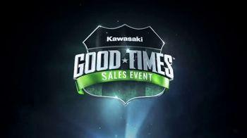 Kawasaki Good Times Sales Event TV Spot, 'Let the Good Times Roll' Jonathan Rea, Cristy Lee - Thumbnail 9