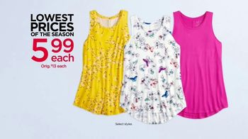 Kohl's Lowest Prices of the Season TV Spot, 'Tank Tops & The Big One' - Thumbnail 4