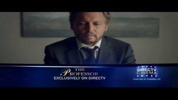 DIRECTV Cinema TV Spot, 'The Professor' - Thumbnail 1