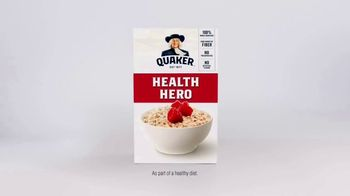 Quaker TV Spot, 'The Health Hero' - Thumbnail 8