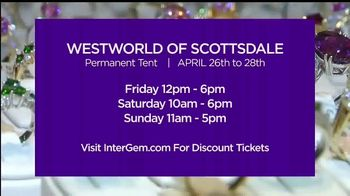 International Gem & Jewelry Show Inc. TV Spot, '2019 Westworld of Scottsdale' - Thumbnail 8