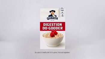 Quaker Instant Oats TV Spot, 'Do Right by Your Digestion' - Thumbnail 8