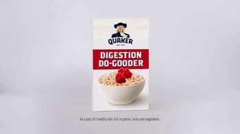 Quaker Instant Oats TV Spot, 'Do Right by Your Digestion' - Thumbnail 7