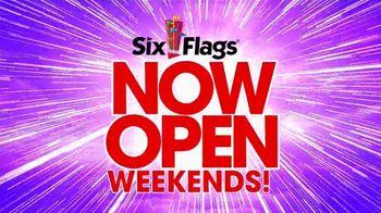 Six Flags Season Pass Sale TV Spot, 'Now Open Weekends' - Thumbnail 3
