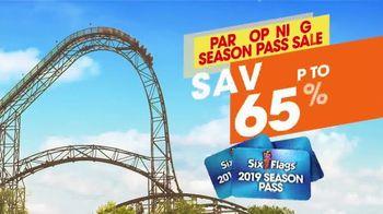 Six Flags Season Pass Sale TV Spot, 'Now Open Weekends' - Thumbnail 6