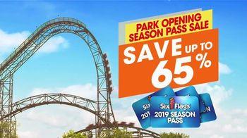 Six Flags Season Pass Sale TV Spot, 'Now Open Weekends' - Thumbnail 7
