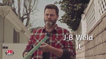 J-B Weld TV Spot, 'When Strength Matters' Featuring Nick Offerman - Thumbnail 3
