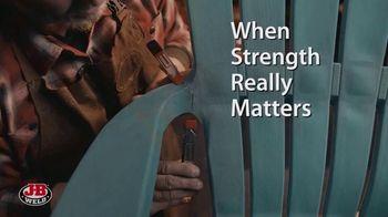 J-B Weld TV Spot, 'When Strength Matters' Featuring Nick Offerman - Thumbnail 4
