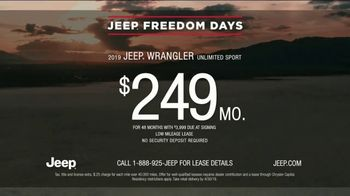 Jeep Freedom Days TV Spot, 'Drop In' Song by SUR [T2] - Thumbnail 5