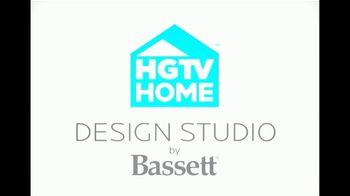 Bassett New Years Sale TV Spot, 'HGTV Home Design Studio: Custom Furniture' - Thumbnail 9