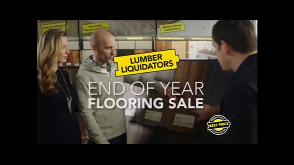 Lumber Liquidators End of Year Flooring Sale TV Commercial, 'Prefinished Flooring'