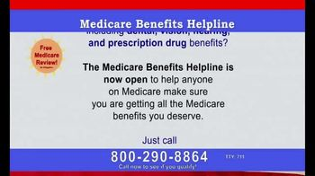 Medicare Coverage Helpline TV Spot, 'All the Benefits You Deserve' - Thumbnail 1