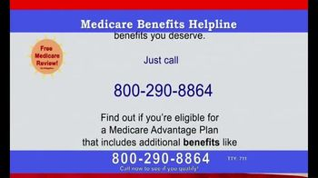 Medicare Coverage Helpline TV Spot, 'All the Benefits You Deserve' - Thumbnail 2