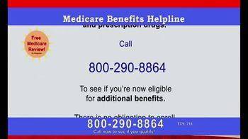 Medicare Coverage Helpline TV Spot, 'All the Benefits You Deserve' - Thumbnail 6
