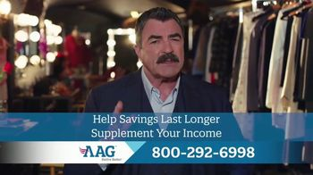American Advisors Group Reverse Mortgage TV Spot, 'What's Your Better?' Featuring Tom Selleck - 261 commercial airings
