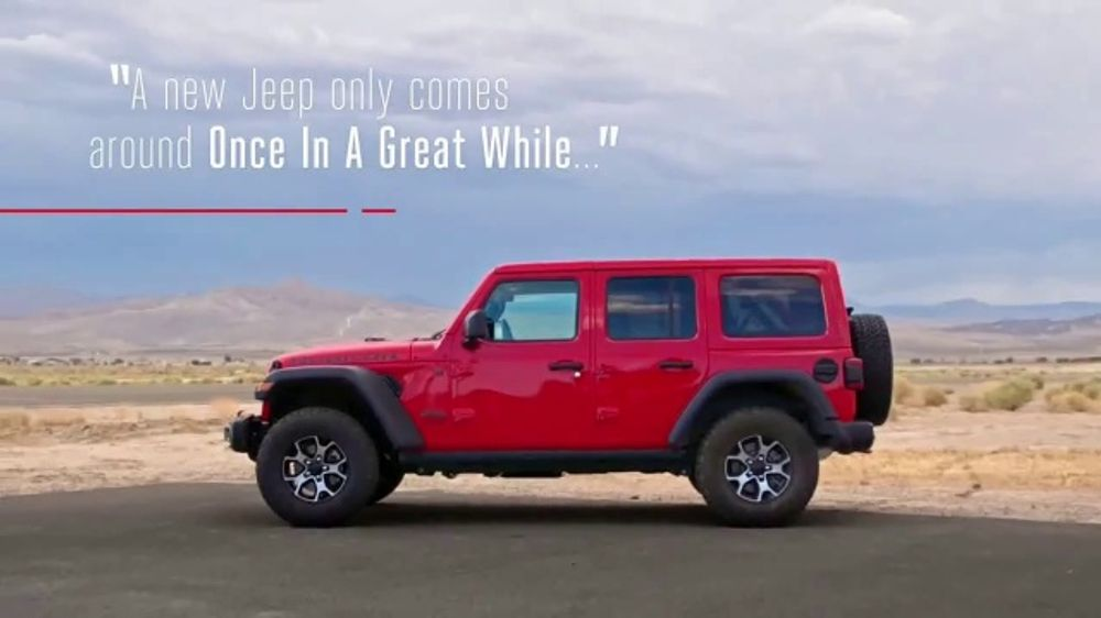 Jeep Advertisement 2019