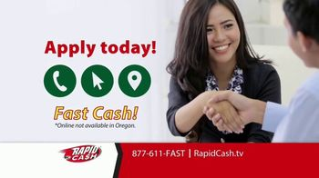 Rapid Cash TV Spot, 'Important' - Thumbnail 10