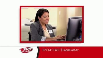 Rapid Cash TV Spot, 'Important' - Thumbnail 6