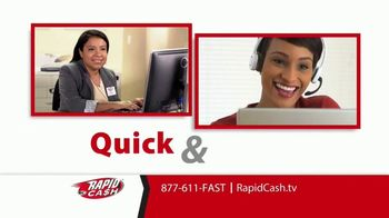 Rapid Cash TV Spot, 'Important' - Thumbnail 7