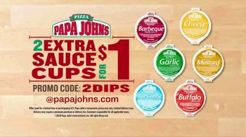 Papa John's Carryout Special TV Spot, 'No Matter What You Call It: Two Extra Sauces' - Thumbnail 6