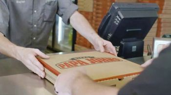 Papa John's Carryout Special TV Spot, 'No Matter What You Call It: Two Extra Sauces' - Thumbnail 3