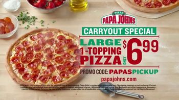 Papa John's Carryout Special TV Spot, 'No Matter What You Call It: Two Extra Sauces' - Thumbnail 5