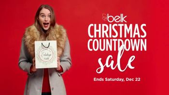 Belk Christmas Countdown Sale TV Spot, 'Beauty'