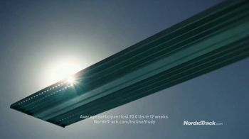 NordicTrack Incline Trainer TV Spot, '12-Week Study' - Thumbnail 5