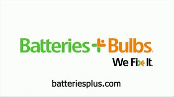 Batteries Plus TV Spot, 'Phone Screen Cracked'