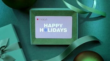 Macy's Holiday Countdown Sale TV Spot, 'Last-Minute Gifts' - Thumbnail 7