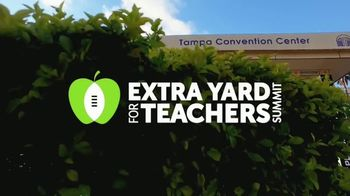 College Football Playoff Foundation TV Spot, '2019 Extra Yard for Teachers Summit' - Thumbnail 1