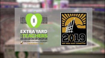 College Football Playoff Foundation TV Spot, '2019 Extra Yard for Teachers Summit' - Thumbnail 5