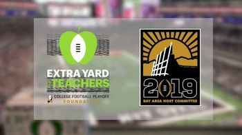 College Football Playoff Foundation TV Spot, '2019 Extra Yard for Teachers Summit' - Thumbnail 6
