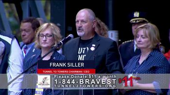 Stephen Siller Tunnel to Towers Foundation TV Spot, 'Gold Star Program' Featuring Mark Wahlberg - Thumbnail 1