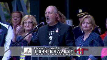 Stephen Siller Tunnel to Towers Foundation TV Spot, 'Gold Star Program' Featuring Mark Wahlberg - Thumbnail 3