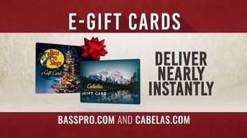 Bass Pro Shops TV Spot, 'Last Minute Gift Ideas: Long Sleeve Tees & Gift Cards' - Thumbnail 4