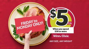 Winn-Dixie TV Spot, 'The Perfect Holiday: Smithfield Smoked Ham Portion' - Thumbnail 2