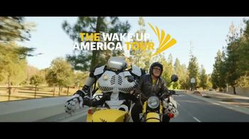 Sprint TV Spot, '2018 Holidays: The Wake Up America Tour: LG V40 and TV' - Thumbnail 1