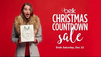 Belk Christmas Countdown Sale TV Spot, 'Jewelry, Pajamas and Sportswear' - Thumbnail 2