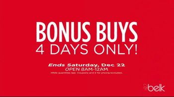 Belk Christmas Countdown Sale TV Spot, 'Jewelry, Pajamas and Sportswear' - Thumbnail 4