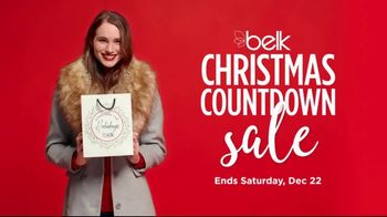 Belk Christmas Countdown Sale TV Spot, 'Jewelry, Pajamas and Sportswear'