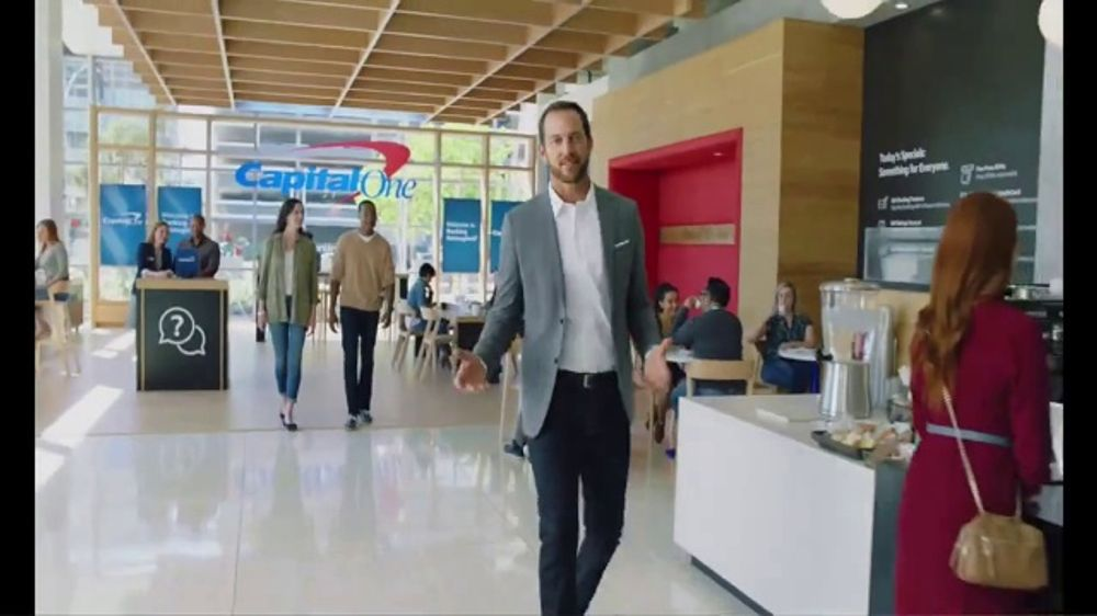 Capital One Caf??s TV Commercial, 'Where It Starts: How Banking Should Be'