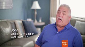 Whole You Sleep Appliance TV Spot, 'John and Doris' - Thumbnail 1