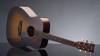 Guitar Center TV Spot, 'Holidays: Yamaha Acoustic Guitar & Ukulele'