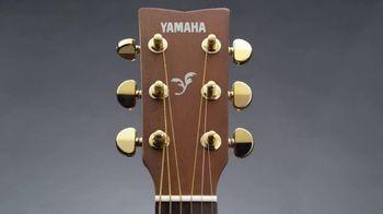 Guitar Center TV Spot, '2018 Holidays: Yamaha Acoustic Guitar & Ukulele' - Thumbnail 2