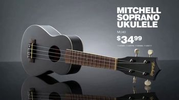 Guitar Center TV Spot, 'Holidays: Yamaha Acoustic Guitar & Ukulele' - Thumbnail 9