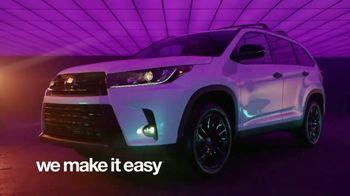 Toyota We Make It Easy Sales Event TV Spot, 'Highlander' [T2] - Thumbnail 7