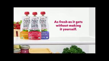 Once Upon a Farm TV Spot, 'Fresh From the Fridge Baby Food' - Thumbnail 10
