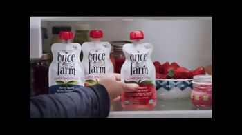 Once Upon a Farm TV Spot, 'Fresh From the Fridge Baby Food' - Thumbnail 6